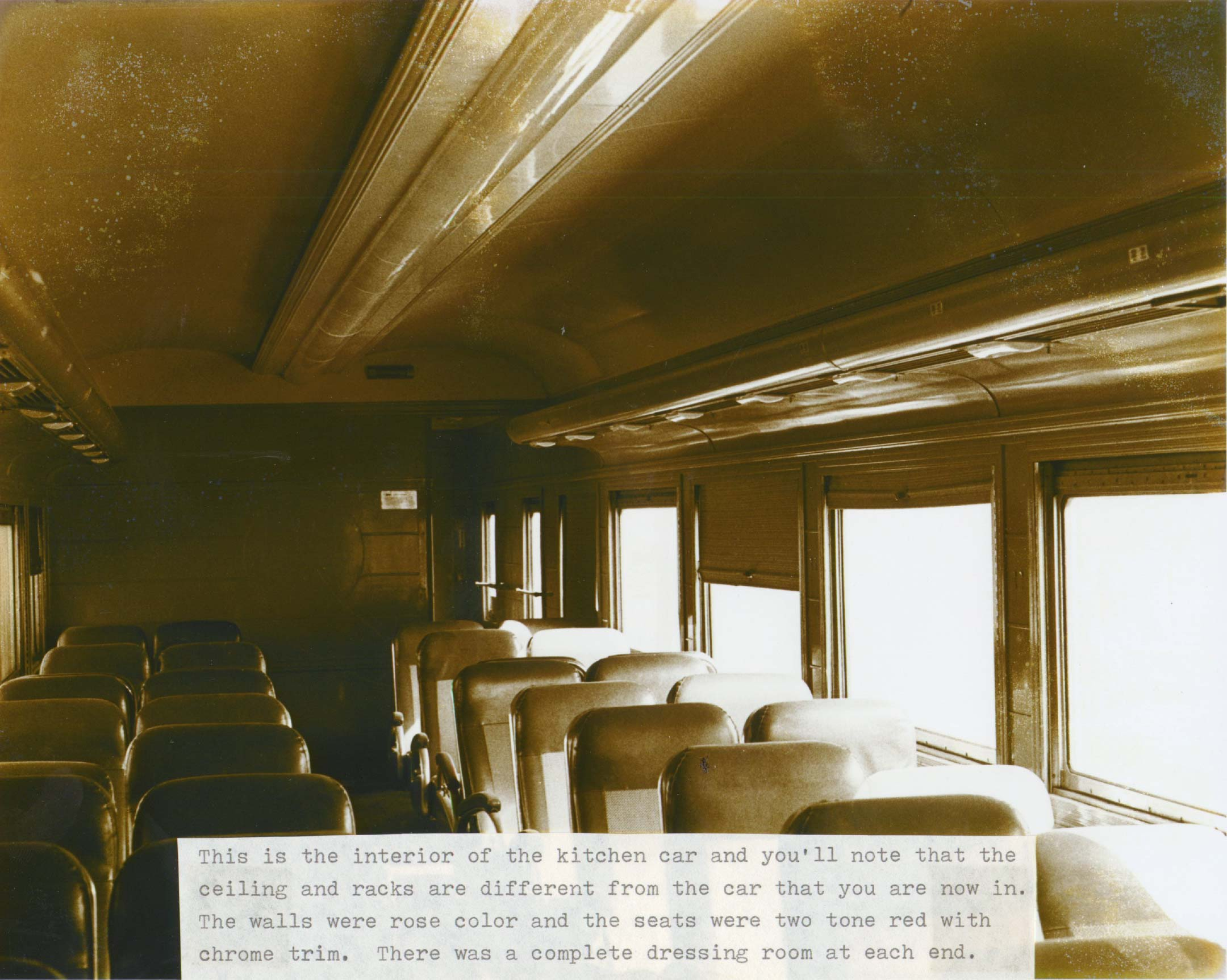 Carney history of the 1924 yellow passenger train