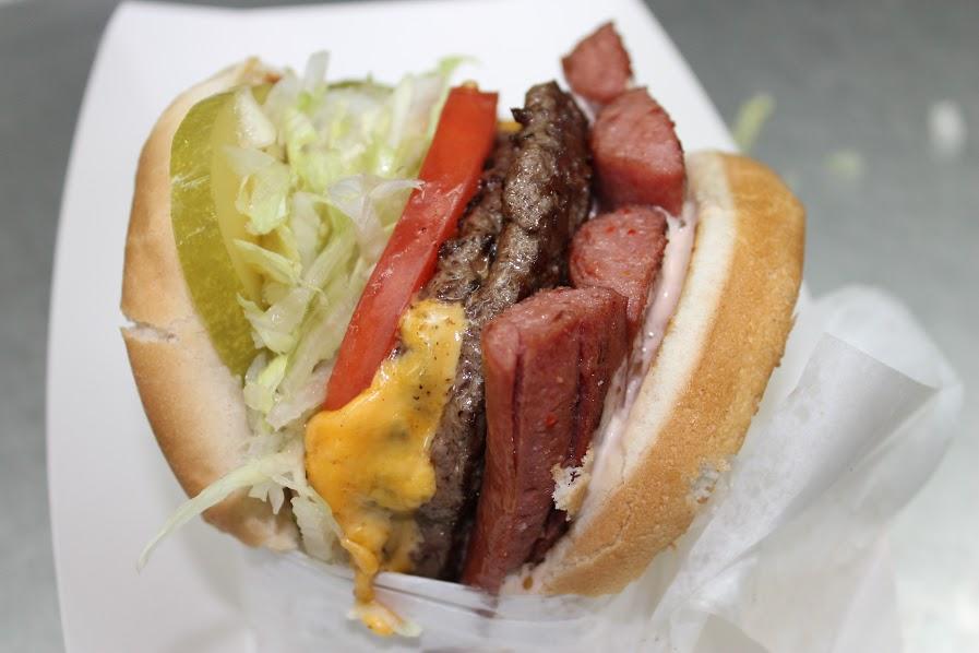 Carney train burgerdog