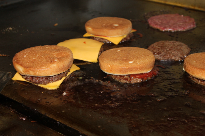 Best cheeseburgers on the grill