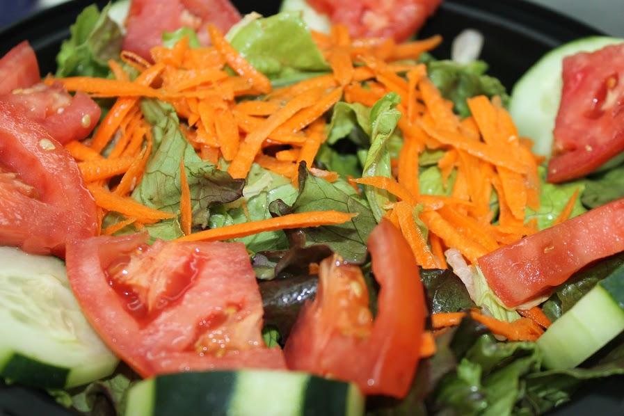 Garden salad in la
