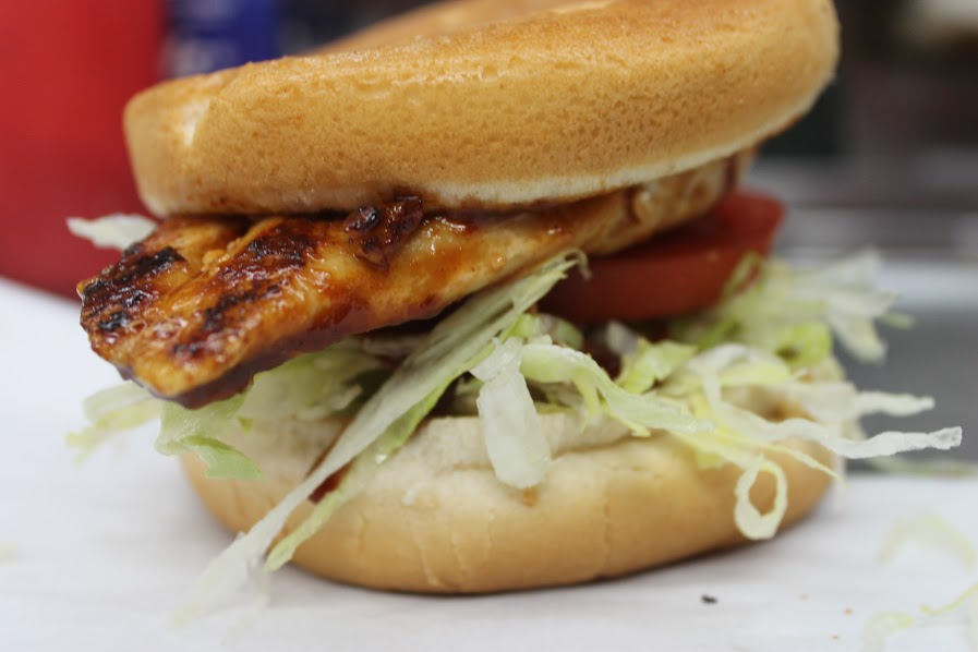 carneys chicken burger