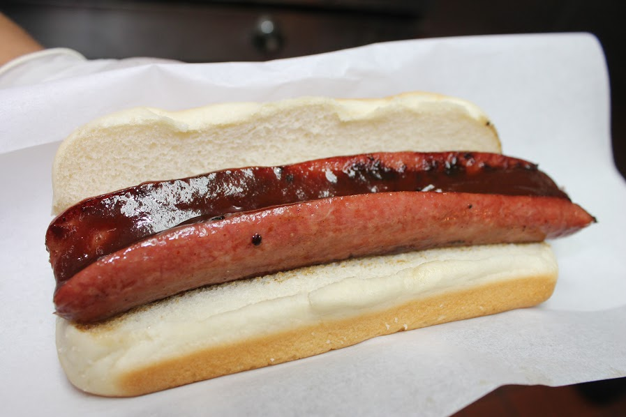 best hot dog in la at carney train